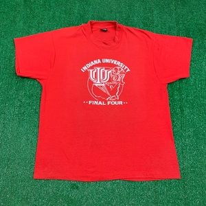 Vintage 80s Indiana Hoosiers Single Stitch Shirt